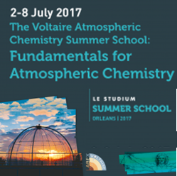 Atmospheric Chemistry Summer School – July 2-8 2017