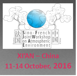 Sino-French Workshop – October 11-14 2016